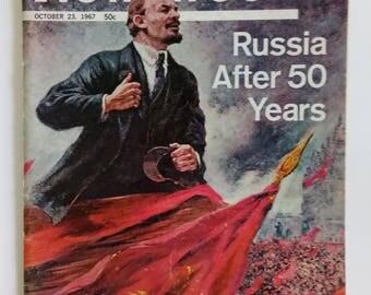 Newsweek Magazine  October 23 1965  Vintage Magazine