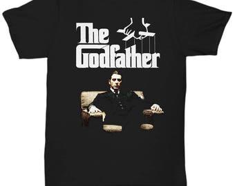 The Godfather Michael Corleone Mafia Shirt Tee Al Pacino  T-shirt  S - 5XL , v3a