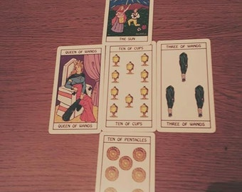 5 card Tarot Reading