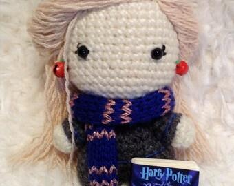Luna Lovegood Handmade Amigurumi Crochet doll