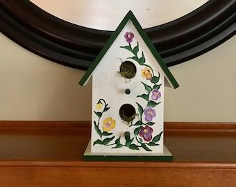 Pansy Birdhouse
