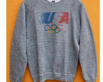 Vintage, Sweater, Levis Olympic, USA