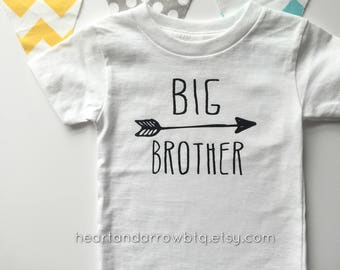 Big Brother TShirt / Baby Onesie® / Baby Bodysuit / Toddler TShirt / Announcement