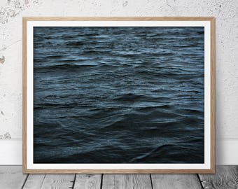 Ocean Photography, Ocean Print, Beach Photography, Modern Photography, Minimalist Poster, Beach Decor, Ocean Decor, Sea Print, Sea Wall Art