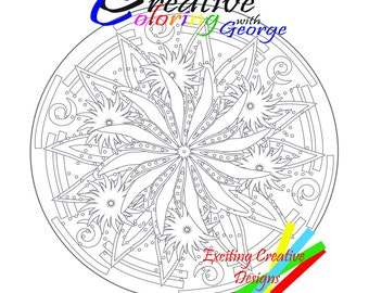 Creative Coloring with George Vol 4