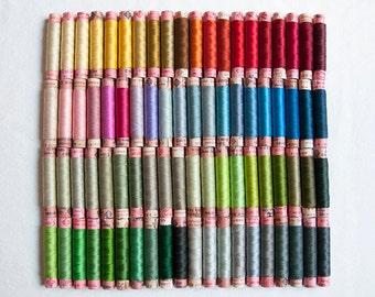 80 threads of silk Laborita of Wolle. Antique. Series 5