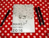 Inktober 2016 - Zine by Mars