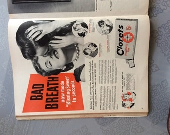 authentic 1950s Clorets Life magazine ad