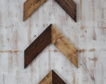 Wooden Arrows, Decorative Arrows, Rustic Arrows, Set of 3 Arrows