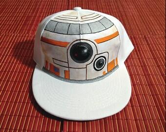 Custom Cap. BB-8. Inspired by star wars.