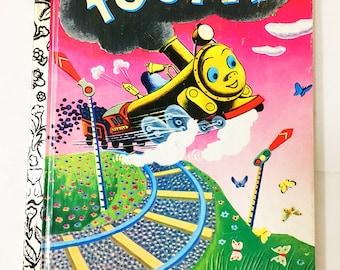Tootle book.  Little Golden Book.   Circa 1992.  Story by Gertrude Crampton.  Illustrated by Tibor Gergely.  LGB