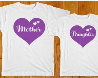 Mother Daughter Gifts - Mom Daughter Matching Shirts - Mother Shirt - Daughter Shirt - Mother's Day Gift - Gift for Mom - Baby Shower Gift