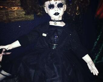 Gothic Shadow Doll