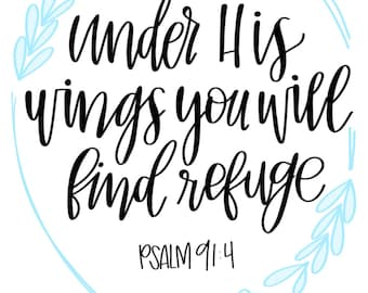 Psalm 91:4 Quote