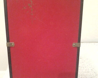 Vintage Metal Doll Carry and Storage Case