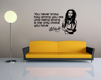 Bob Marley Quote - Vinyl Wall Decal