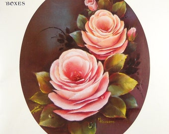 Designs for Decorating Book for Trays, Trunks, Furniture, Plaques & Boxes