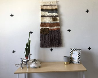 """Woven Wall Hanging- large """"Clay"""""""