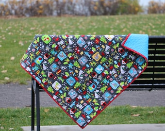 Quilt baby pattern of Christmas - on the road to Santa (2)
