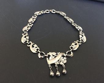Vintage Choker Style necklace,  marked Paris