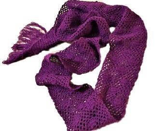 Crochet Scarf Knit Scarf Chunky Scarf Infinity scarf Neckwarmer Gift for her Personalized Women Christmas gift UNDER 20