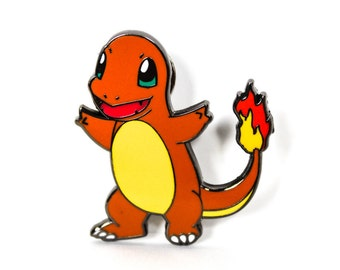 Charmander Lapel Pin