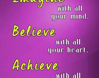 Motivational quotes, motivational print, motivational poster, motivational wall decor, motivational art, inspirational quotes (JS1399)