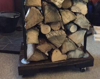 Industrial Firewood Rack