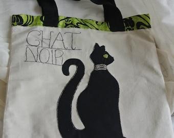 Chat noir bag