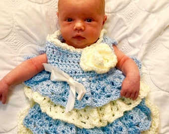 Ruffle Skirt Baby Dress