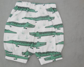 CROCODILE bloomers, size 3-6 months