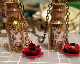 Tale as Old as Time Long Necklace