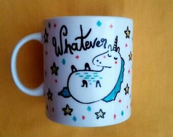 Hand Drawn Coffee Mug