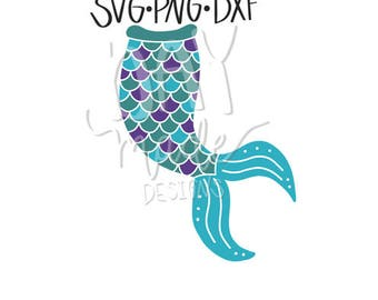 Mermaid SVG, Mermaid Cut File