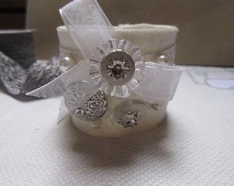 Wedding bridal Cuff Bracelet