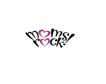 MOTHERS DAY laptop cup decal outline SVG Digital Download Cuttable Files Cricut Silhouette