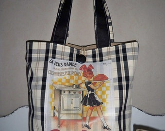 """Bag Tote """"Calor"""" and its matching pouch (S20)"""