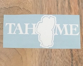 TAHOME Vinyl Decal Sticker