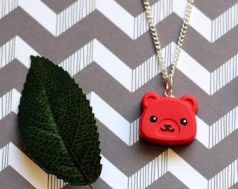 Kawaii Bear Necklace