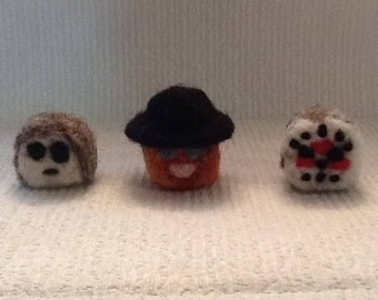 Freddy Krueger, Jason Voorhees, Michael Myers Slashmallows