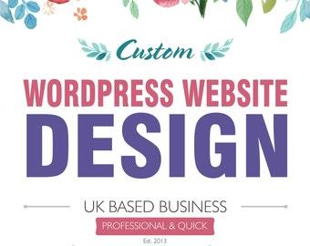 Wordpress Website with Onsite SEO, Custom Wordpress Website, Website, Restaurant Website, Web Design, Wordpress Design, Blog Website