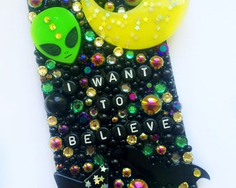 I Want To Believe Decoden Phone Case