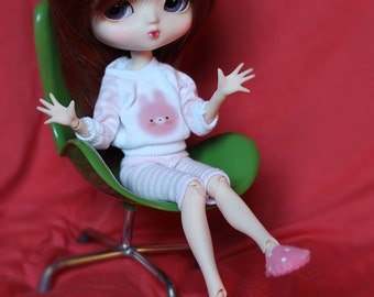 Polka dots Slippers for Blythe, Pullip and Dal