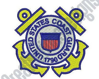 USCG - Machine Embroidery Design