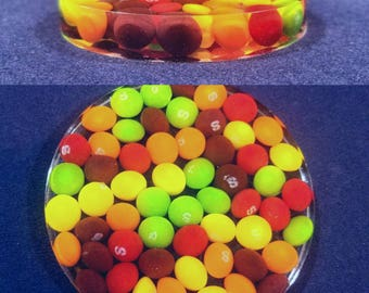 Skittles Candy Coaster