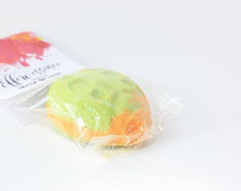 Citrus Mist bath bomb LADYBIRD / LADYBUG Bath Bomb Citrus Mist / effervescent bomb / effervescent ball