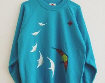 Vintage Blue 90s Sweater