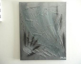 Original Spray Painted, Modern Contemporary Canvas Wall Art