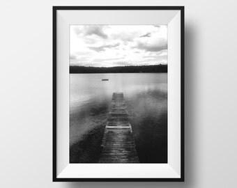 Northern Ontario Dock Photo
