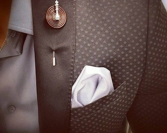 Hand Made King Chess Piece Lapel Pin